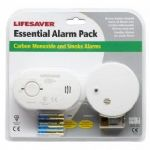 Kidde CO1SA6 CO and Smoke Alarm Twin Pack